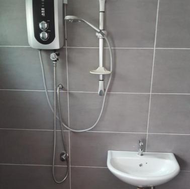Bathroom (heater & Sink)