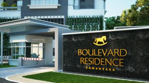 Boulevard Residence Building View