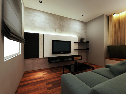 Master Bedroom with TV Cabinet