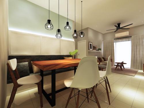 Dining Area Drawing